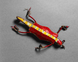 Lizard amulet, Plains Indians, USA and Canada.