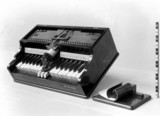Typewriter from the Wheatstone Collection.