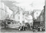 Opening of the Liverpool and Manchester Railway, 1830.