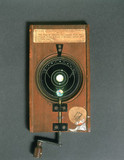 Motion of Venus or Mercury magic lantern slide, 19th century.