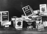 The contents of an American food parcel, 1 December 1946.
