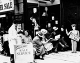 Summer sales at Swears and Wells, London, 21 June 1938.