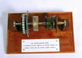 Rotor from Enigma cypher machine, 1939-1945.