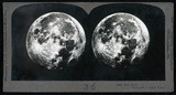 Full Moon, stereocard, 1900.