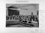 Group photograph from the Solvay Physics Conference, Brusels, 1933.