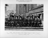 Group photograph from the Solvay Physics Conference, Brussels, 1927.