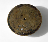 Part of a portable sundial-calendar, Byzantine, c 520 AD.