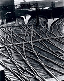 'Lines of Communication', King's Cros Station, London, 1938.