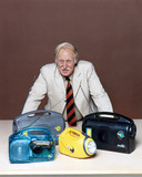 Trevor Baylis, English inventor, August 1998.
