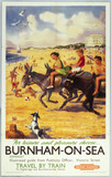 'For Leisure or Pleasure choose Burnham-on-
