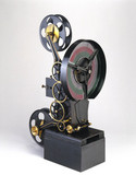 Original Lee and Turner three-colour projector, late 1910s.