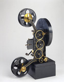 Original Lee and Turner three-colour projector, 1902.