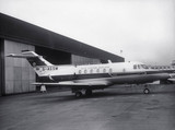 Hawker Siddeley HS 125 executive jet, 1965.