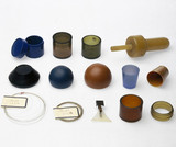 Samples of polyethene and other plastic items, c 1935.