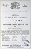 Title page of the Great Exhibition catalogue, 1851.