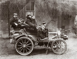 C S Rolls and party en route to 'Hendre', near Monmouth, Christmas 1899.