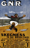 'Skegness is so Bracing', postcard, 1908.