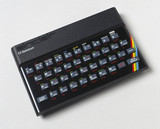 Sinclair ZX Spectrum microcomputer, 1982.