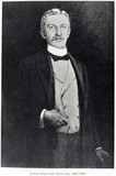 James Edward Keeler (1857-1900), American astronomer, late 1890s.