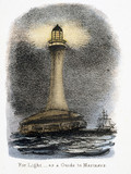 'For light - as a Guide to Mariners', c 1845.