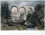 'Oblique Bridge over the River Gelt', Cumbria, 1836.