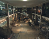 The 'Making the Modern World' Gallery under construction, February 2000.