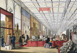 Mining stand at the Great Exhibition, Crystal Palace, London, 1851.