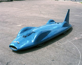 Donald Campbell's record-breaking 'Bluebird' CN7 car, 1962.