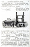Modern and old power looms, 1851.
