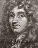 Christiaan Huygens, Dutch physicist, 17th century.