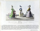 'Views of the Lady's Pedestrian Hobby Horse', 1819.
