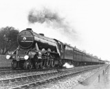 'Flying Scotsman' , near Grantham, Lincolnshire c.1931.