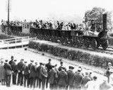 'Locomotion No 1' at the Centenary, Shildon, Co Durham, 1925.
