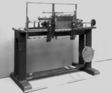 Kay's wire carding machine, late 19th century.