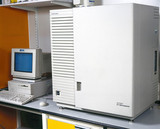Automated DNA sequencing machine, May 2000.