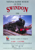 National Railway Museum on tour, Swindon', 1990.