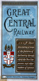 Front cover of a Great Central Railway guide book, 1910.