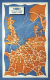 'International Connections', BR(SR) poster, 1960.