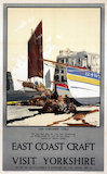 'East Coast Craft', LNER poster, 1923-1947.