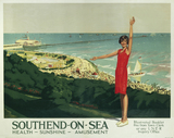 'Southend-on-Sea', LNER poster, 1923-1947.