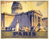 'Paris - Short Sea Routes', SR poster, 1932.