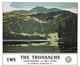'The Trosachs', LMS poster, 1925.