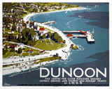 'Dunoon', LNER poster, 1923-1947.