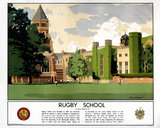 'Rugby School', LMS poster, 1923-1947.