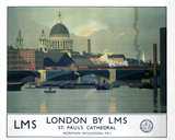 'London by LMS', LMS poster, c 1925.