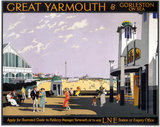 'Great Yarmouth & Gorleston on Sea', LNER poster, 1935.