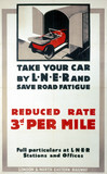 'Take Your Car by LNER', LNER poster, 1933.