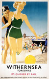 'Withernsea', LNER poster, 1923-1947.
