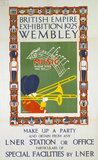 'British Empire Exhibition', LNER poster, 1925.
