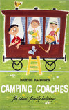 'Camping Coaches for Ideal Family Holidays', c 1950s.